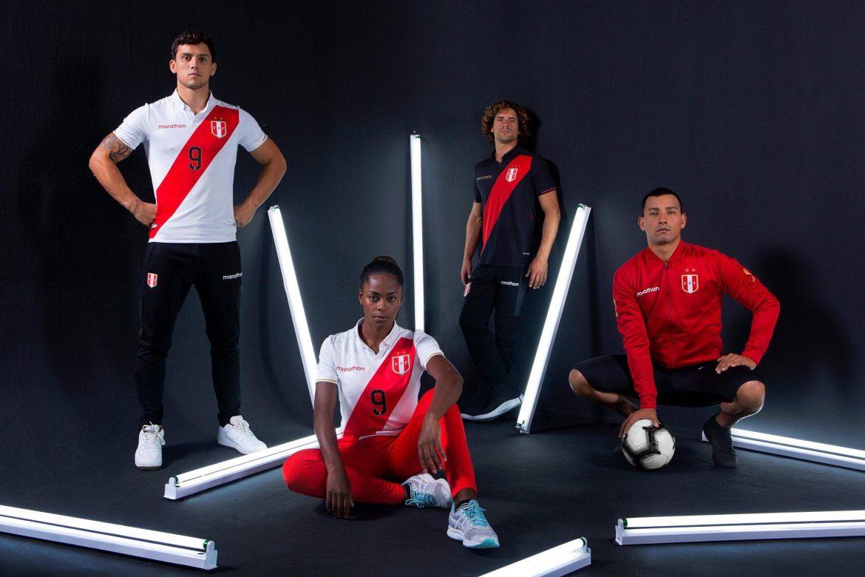 Camisas do Perú 2019-2020 Marathon Copa América