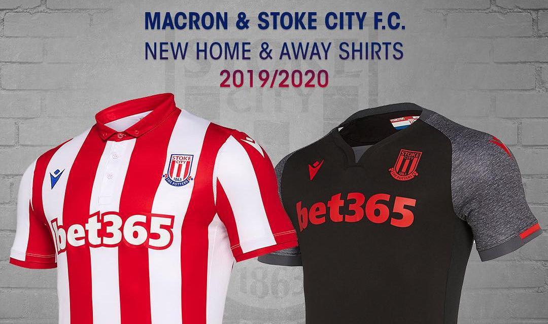 Camisas do Stoke City 2019-2020 Macron
