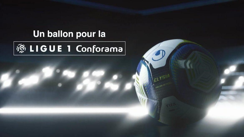 Elysia Bola da Ligue 1 Conforama 2019-2020 Uhlsport