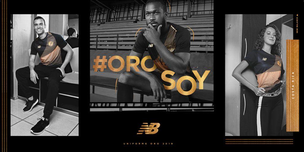 Terceira camisa da Costa Rica 2019 New Balance Copa Ouro