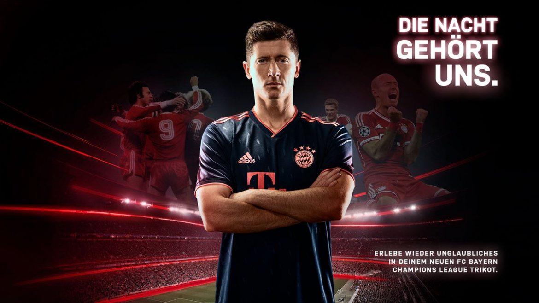 Terceira camisa do Bayern de Munique 2019-2020 Adidas