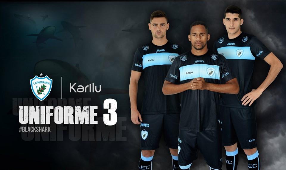 Terceira camisa do Londrina EC 2019 Karilu