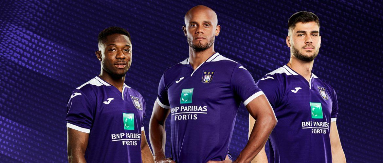 Camisas do Anderlecht 2019