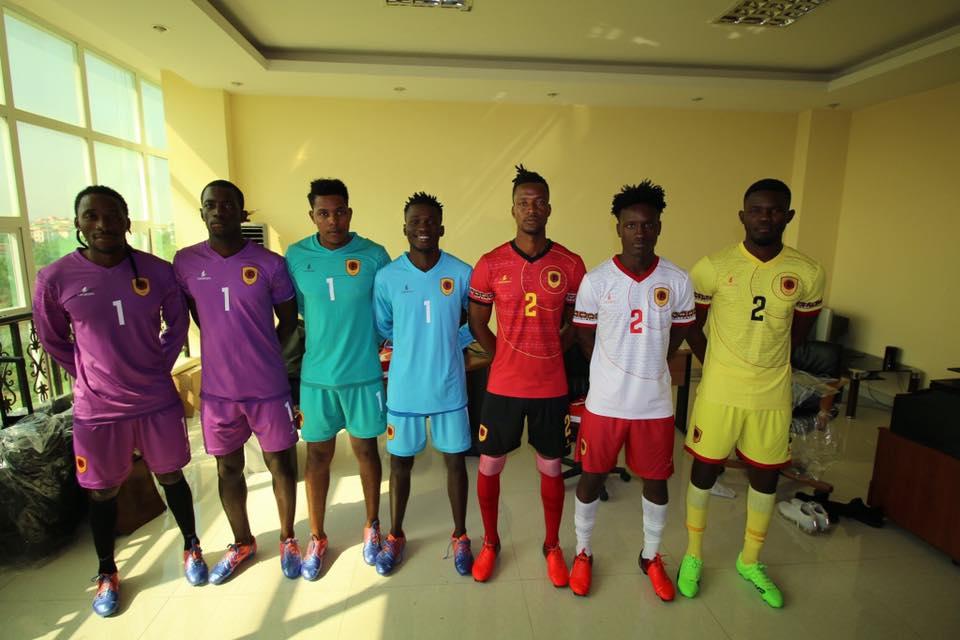 Camisas da Angola 2019-2020 Lacatoni