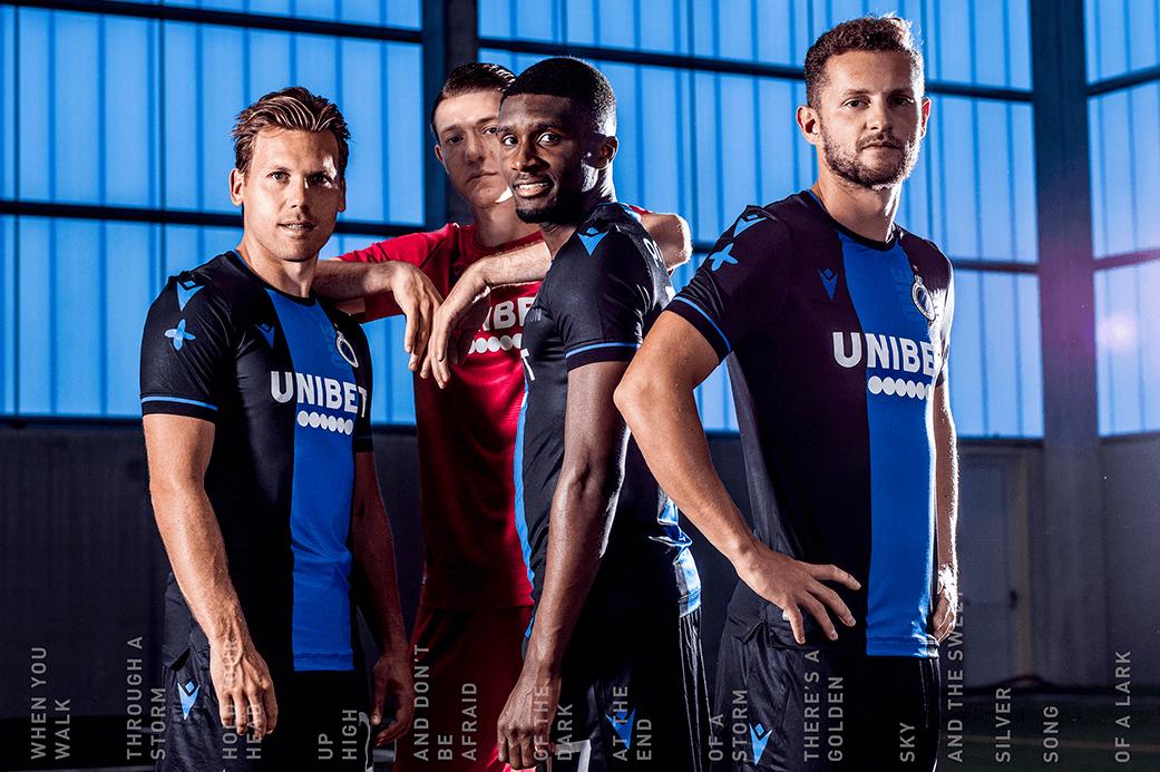 Camisas do Club Brugge 2019-2020 Macron