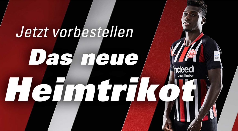 Camisas do Eintracht Frankfurt 2019-2020 Nike Titular