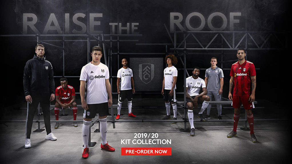 Camisas do Fulham FC 2019-2020 Adidas