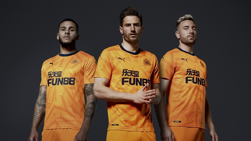 Camisas do Newcastle United 2019-2020 PUMA