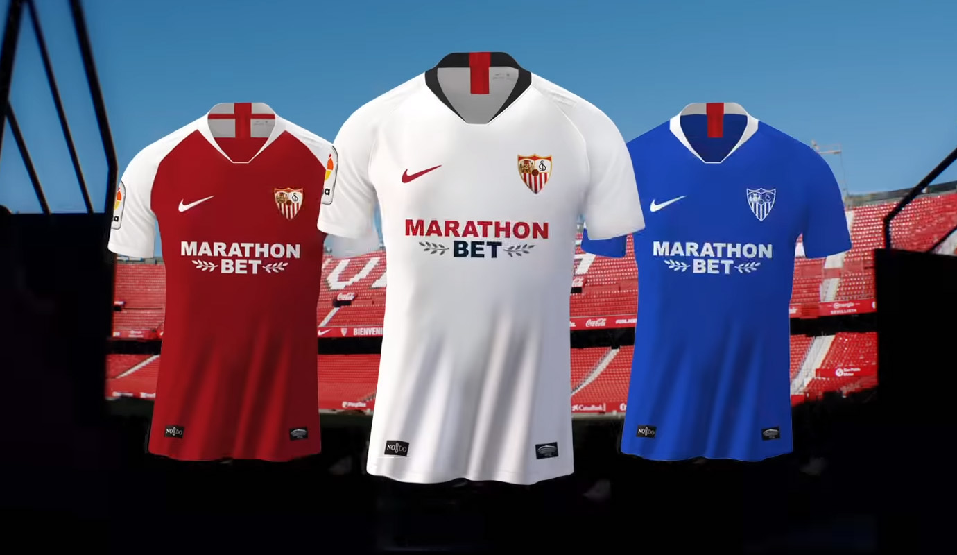 Camisas do Sevilla 2019-2020 Nike