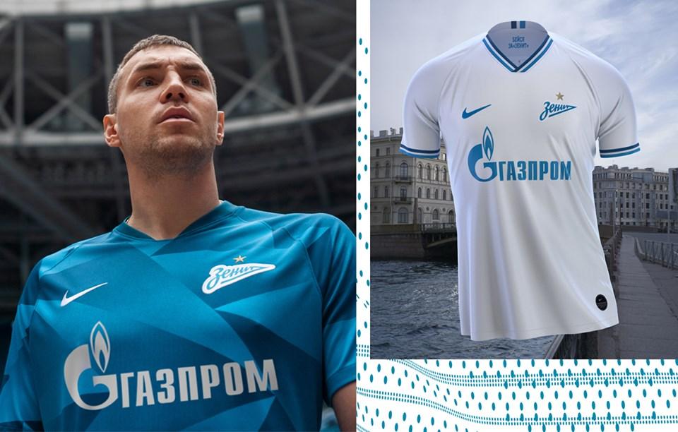Camisas do Zenit 2019-2020 Nike