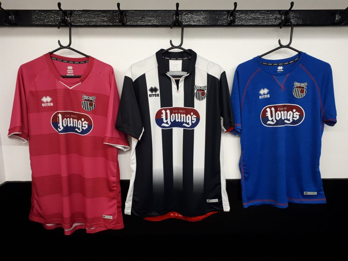Camisas do Grimsby Town 2019