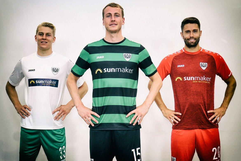 Camisas do Preussen Münster 2019