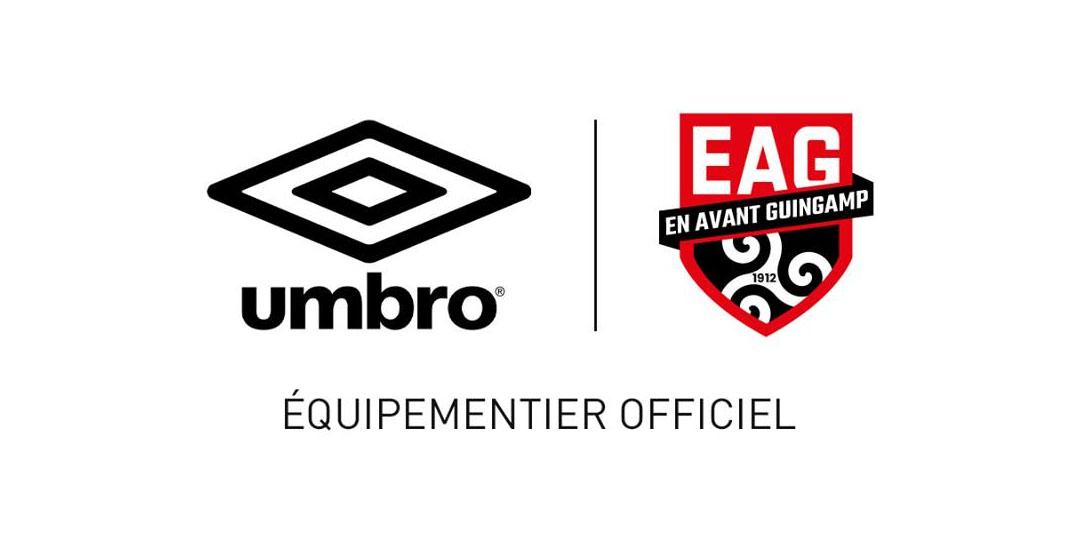 EA Guingamp Umbro novo escudo