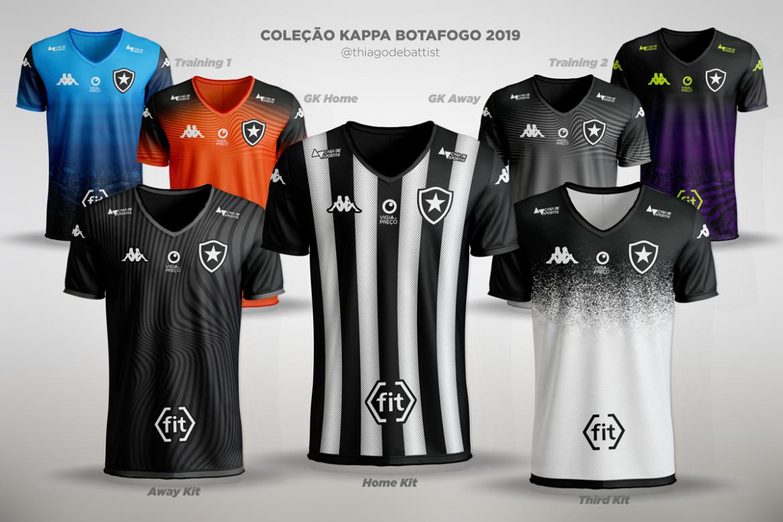 Leitor MDF Camisas do Botafogo FR 2019-2020 Kappa (Thiago De Battisti)