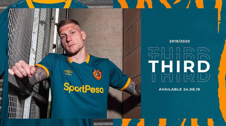 Terceira camisa do Hull City 2019-2020 Umbro