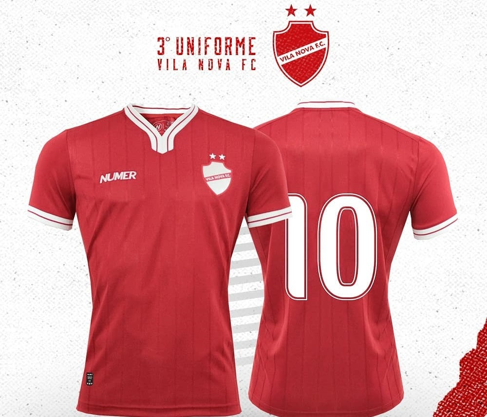 Terceira camisa do Vila Nova 2019 Numer