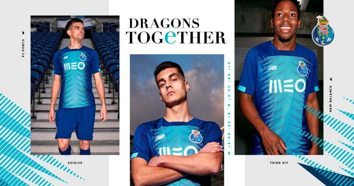 Terceira camisa do Porto 2019-2020 New Balance