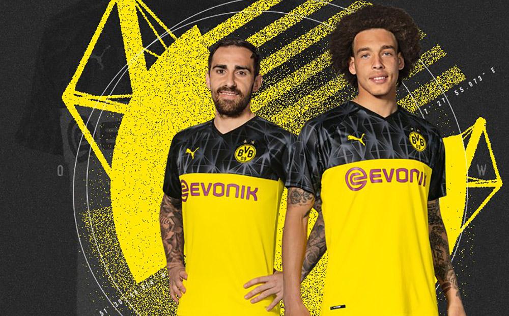 Camisa do Borussia Dortmund Champions League 2019-2020 PUMA abre