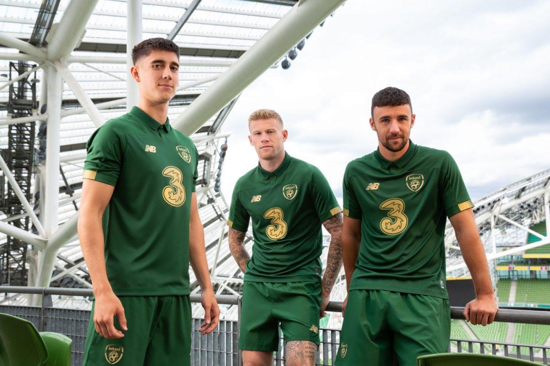Camisas da Irlanda 2019-2020 New Balance 1