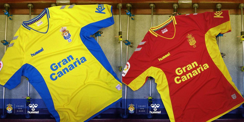 Camisas da UD Las Palmas 2019-2020 Hummel