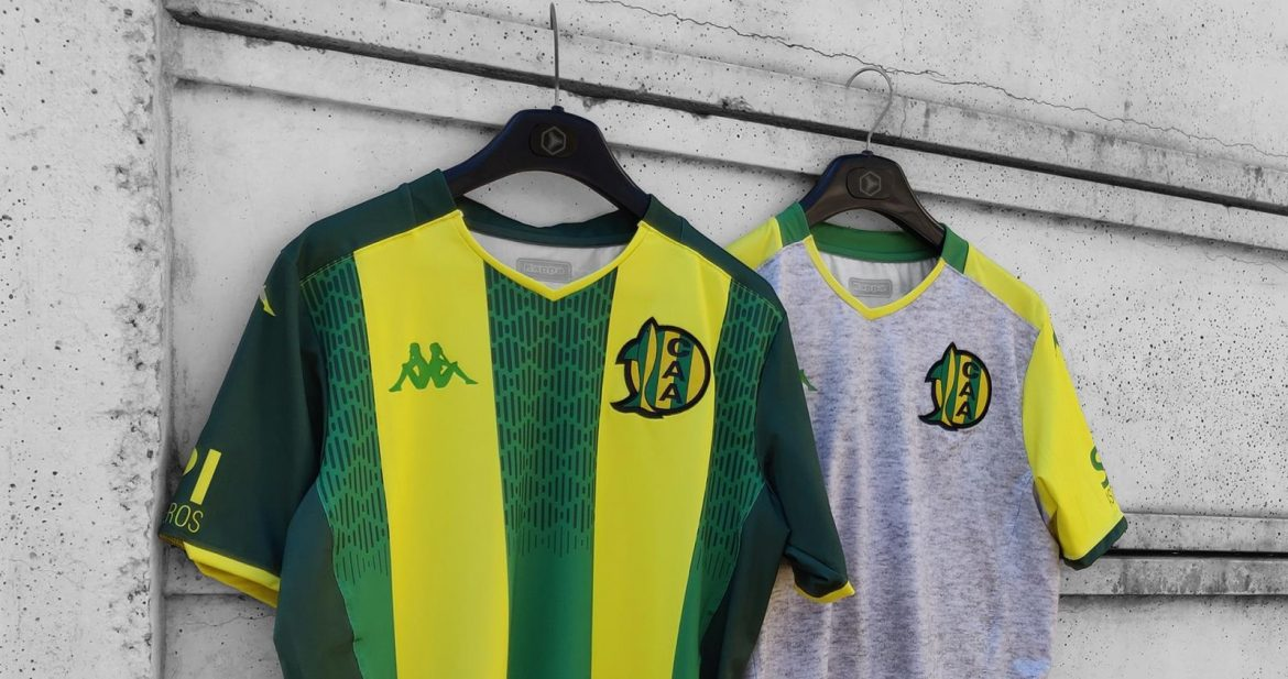 Camisas do Aldosivi 2019-2020 Kappa