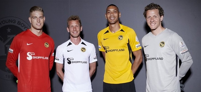 Camisas do BSC Young Boys 2019-2020 Nike
