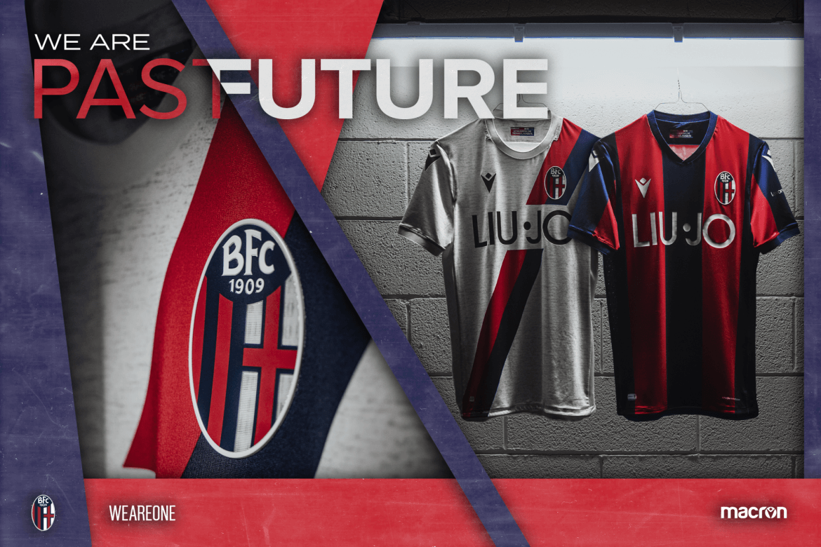 Camisas do Bologna 2019-2020 Macron