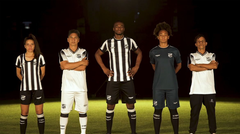 Camisas do Ceará 2019 Topper