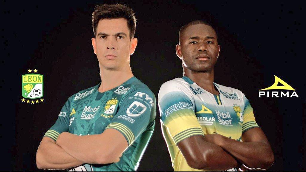 Camisas do Club León 2019-2020 Pirma