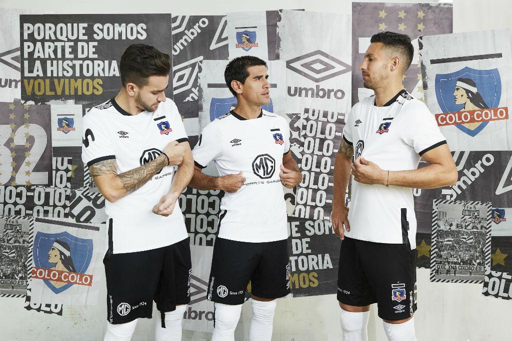 Camisas do Colo-Colo 2019-2020 Umbro Titular