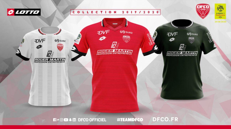 Camisas do Dijon FCO 2019-2020 Lotto