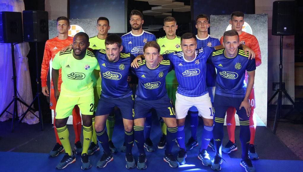 Camisas do Dinamo Zagreb 2019-2020 Adidas
