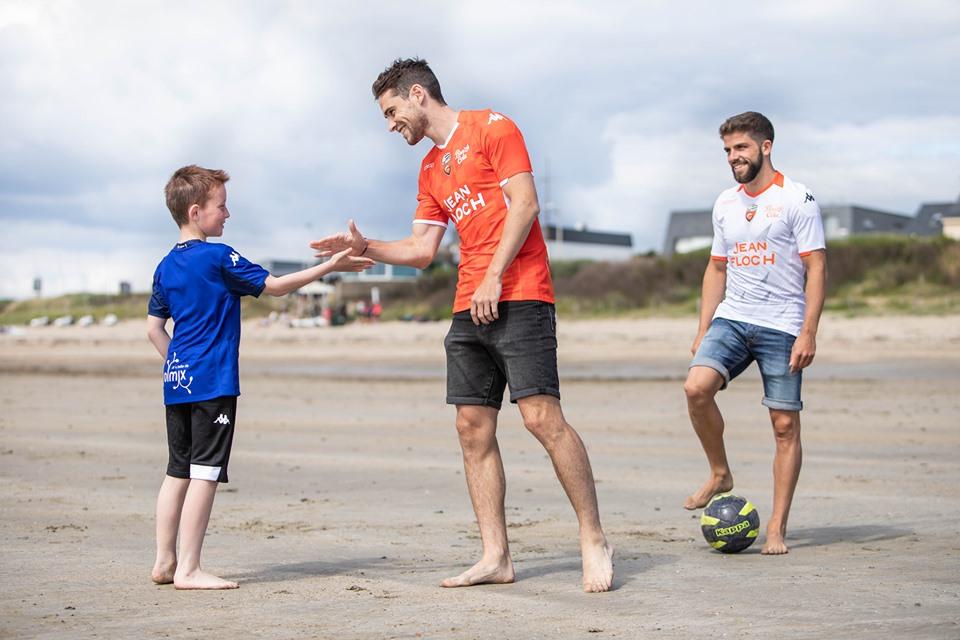 Camisas do FC Lorient 2019-2020 Kappa