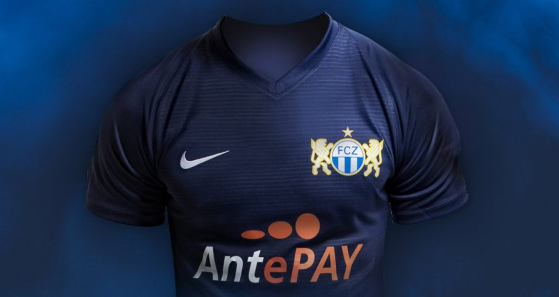 Camisas do FC Zurich 2019-2020 Nike