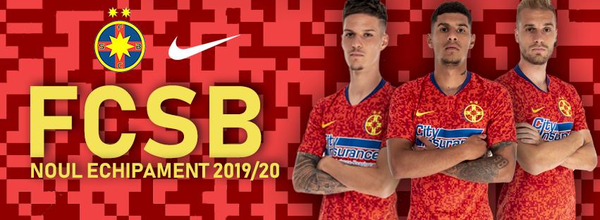 Camisas do FCSB 2019-2020 Nike