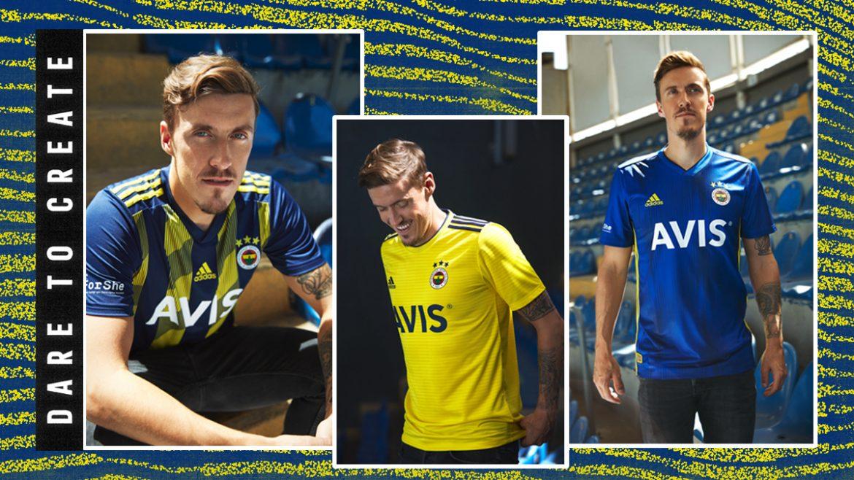 Camisas do Fenerbahce 2019-2020 Adidas