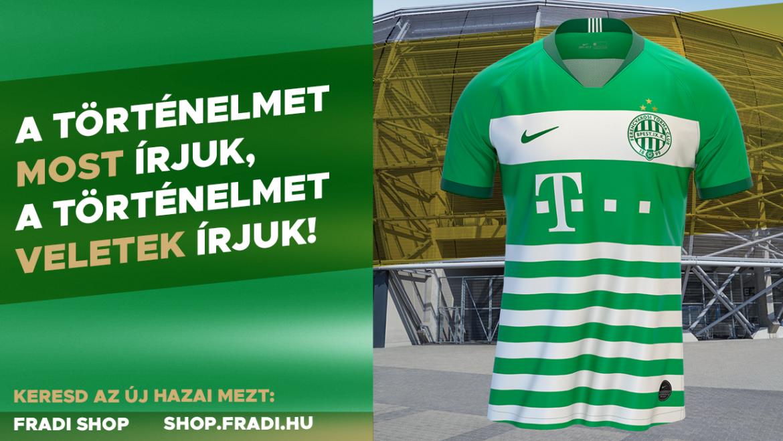 Camisas do Ferencvárosi TC 2019-2020 Nike