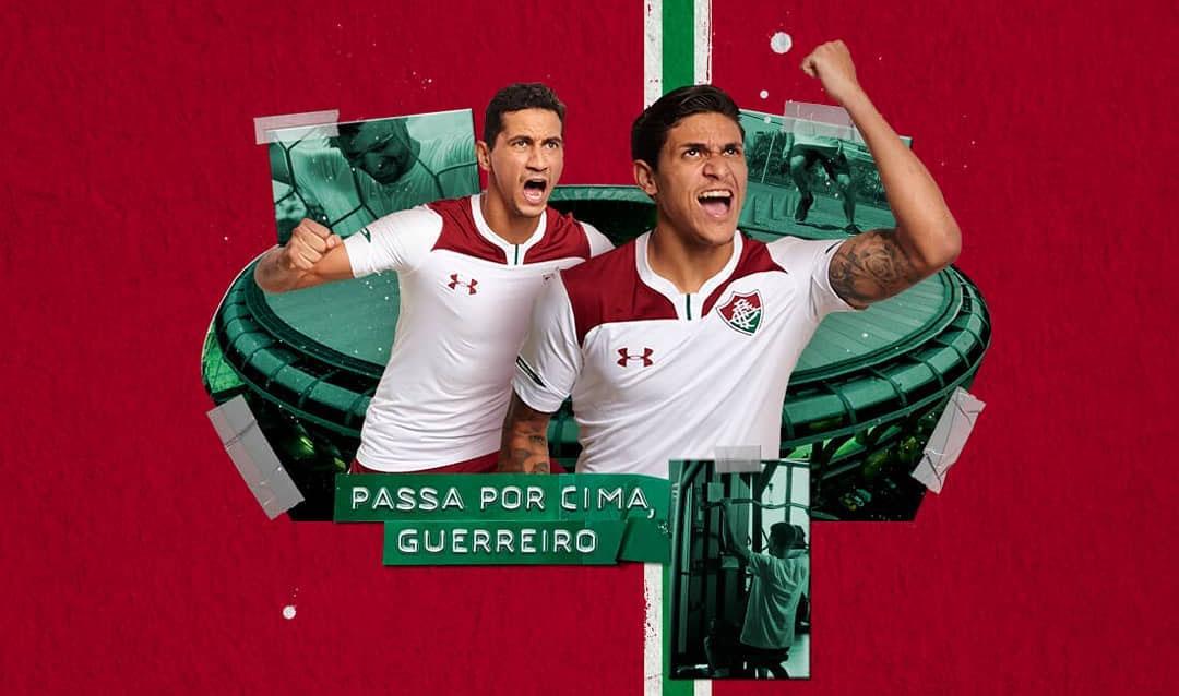 Camisas do Fluminense 2019-2020 Under Armour Reserva abre