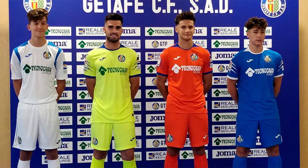 Camisas do Getafe CF 2019-2020 Joma