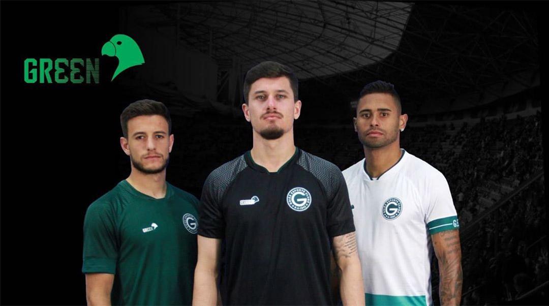 Camisas do Goiás 2019-2020 Green abre
