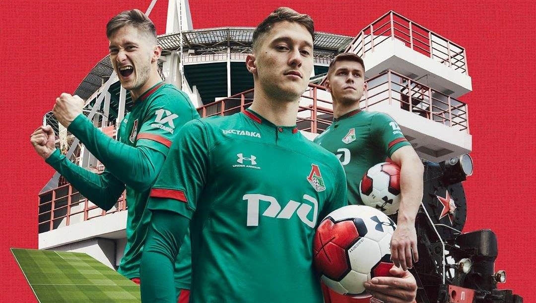 Camisas do Lokomotiv Moscou 2019-2020 Under Armour