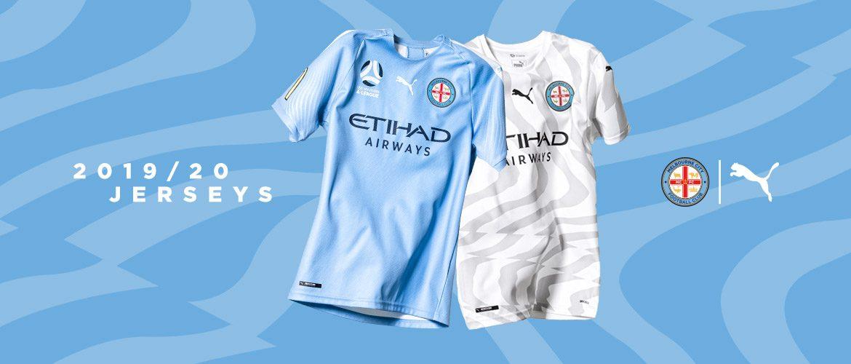 Camisas do Melbourne City 2019-2020 PUMA abre