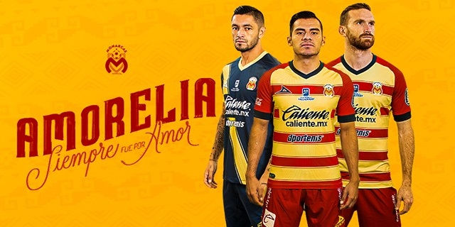 Camisas do Monarcas Morelia 2019-2020 Pirma