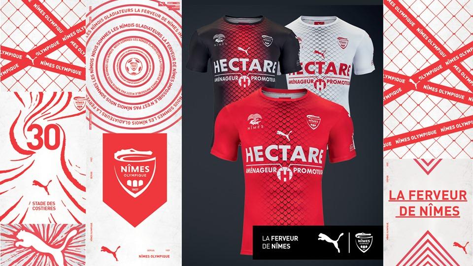 Camisas do Nimes Olympique 2019-2020 PUMA