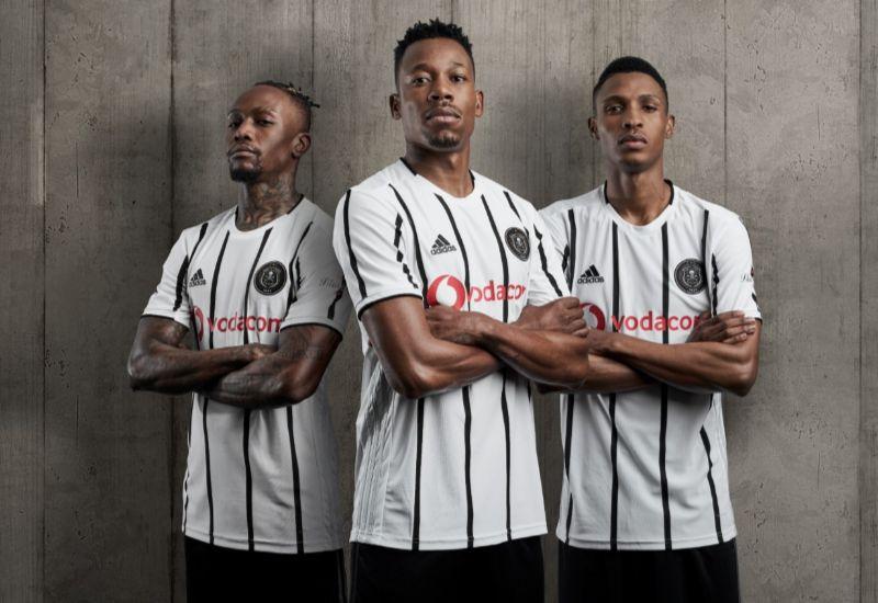 Camisas do Orlando Pirates 2019-2020 Adidas