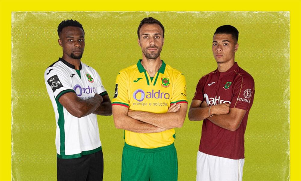 Camisas do Paços Ferreira 2019-2020 Joma