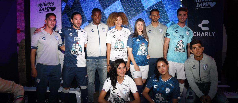 Camisas do Pachuca 2019-2020 Charly