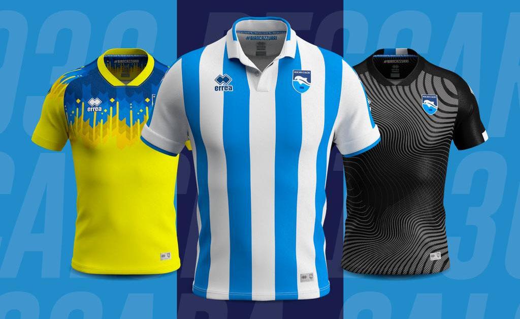 Camisas do Pescara Calcio 2019-2020 Erreà