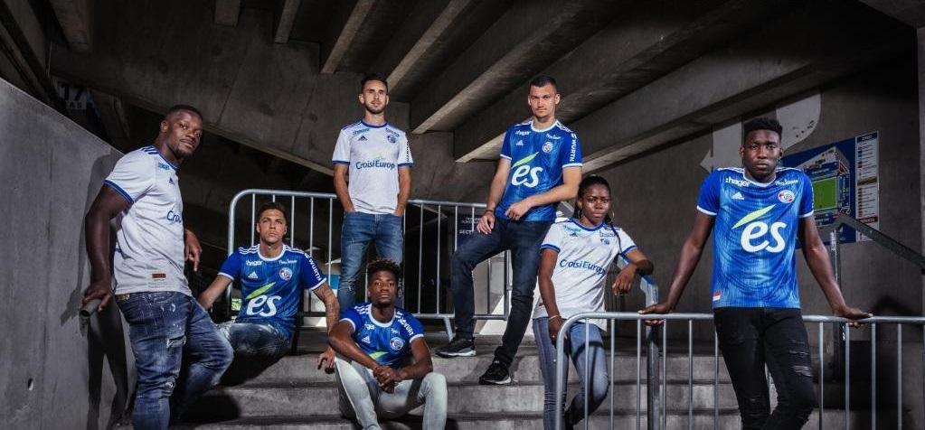 Camisas do Racing de Strasbourg 2019-2020 Adidas