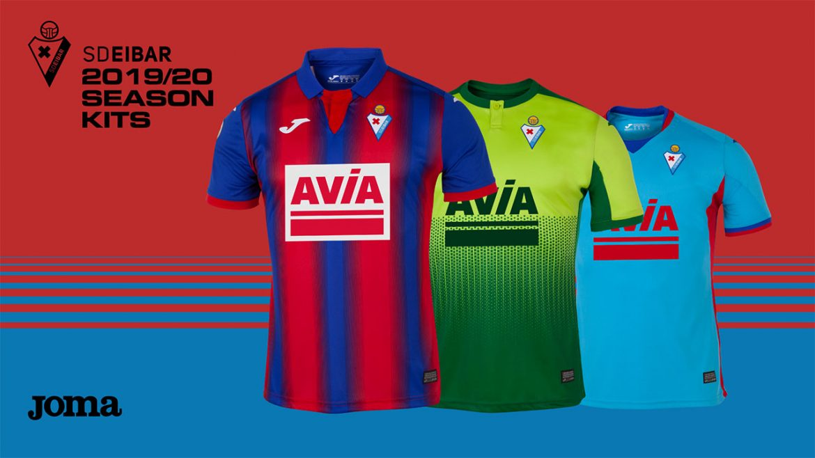 Camisas do SD Eibar 2019-2020 Joma